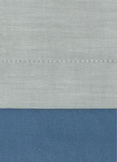 Образец ткани для пошива постельного белья - модель Samuele - цвет Celeste - египетский хлопок 100%