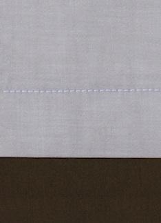 Образец ткани для пошива постельного белья - модель Samuele - цвет Chocolat - египетский хлопок 100%