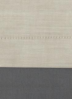 Образец ткани для пошива постельного белья - модель Samuele - цвет Sabbia - египетский хлопок 100%
