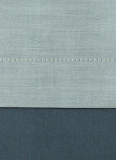 Образец ткани для пошива постельного белья - модель Samuele - цвет Sea - египетский хлопок 100%