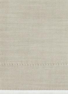 Образец ткани для пошива постельного белья - модель Stefano - цвет Beige - египетский хлопок 100%
