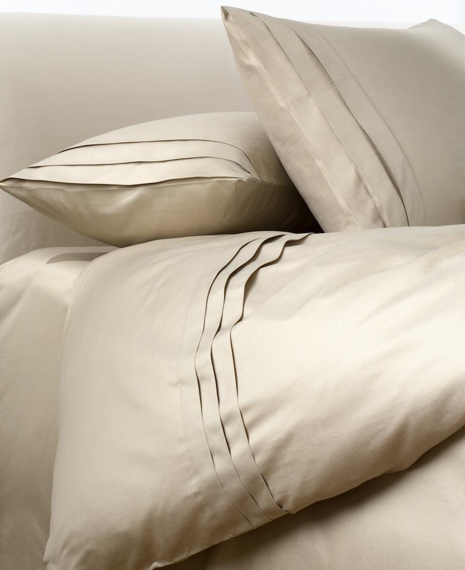 Постельное белье -  модель Rialto - цвет Oro bianco/белое золото - состав египетский хлопок 100% - производство Италия