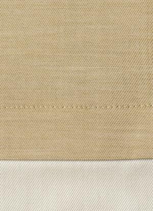Образец ткани для пошива постельного белья - модель Palazzo - цвет Oro/золото - египетский хлопок 100%