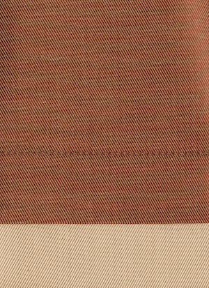 Образец ткани для пошива постельного белья - модель Palazzo - цвет Terracotta/терракотта - египетский хлопок 100%