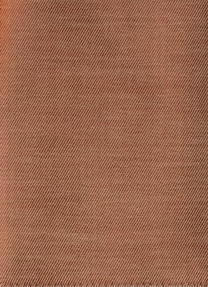 Образец ткани для пошива постельного белья - модель Rialto - цвет Terracotta/терракотта - египетский хлопок 100%