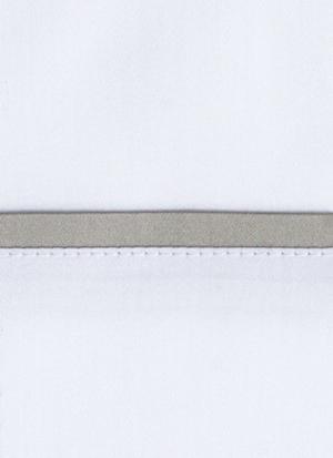 Образец ткани для пошива постельного белья - модель Briati - цвет Dolomia/жемчуг- египетский хлопок 100%
