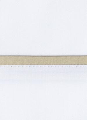 Образец ткани для пошива постельного белья - модель Briati - цвет Sable/песок - египетский хлопок 100%