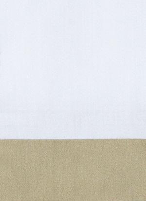 Образец ткани для пошива постельного белья - модель Canonica - цвет Sable/песок - египетский хлопок 100%