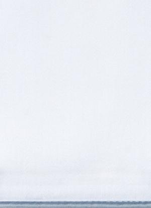 Образец ткани для пошива постельного белья - модель Lion - цвет Sion/серо-голубой - египетский хлопок 100%