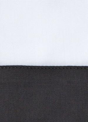 Образец ткани для пошива постельного белья - модель Foscari - цвет grisaglia/графит - египетский хлопок 100%