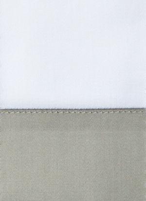 Образец ткани для пошива постельного белья - модель Foscari  - цвет Dolomia/жемчуг- египетский хлопок 100%