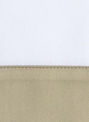 Образец ткани для пошива постельного белья - модель Foscari  - цвет Sable/песок - египетский хлопок 100%