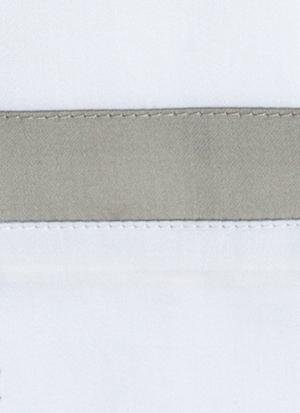 Образец ткани для пошива постельного белья - модель San Antonio - цвет Dolomia/жемчуг - египетский хлопок 100%