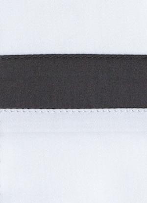 Образец ткани для пошива постельного белья - модель San Antonio - цвет Grisaglia/графит - египетский хлопок 100%