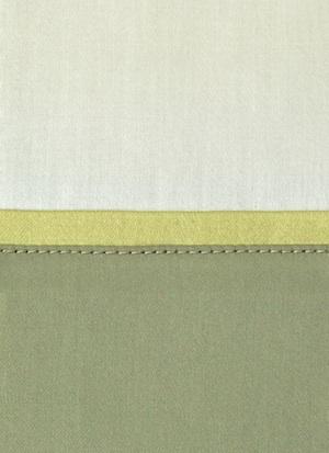 Образец ткани для пошива постельного белья - модель Clemente цвет Oliva - египетский хлопок 100%