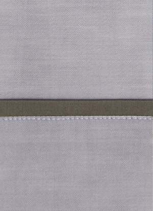 Образец ткани для пошива постельного белья - модель Lia цвет Cacao - египетский хлопок 100%