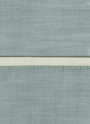 Образец ткани для пошива постельного белья - модель Lio цвет Craie - египетский хлопок 100%