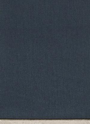 Образец ткани для пошива постельного белья - модель Lorenzo - цвет Blu notte - египетский хлопок 100%