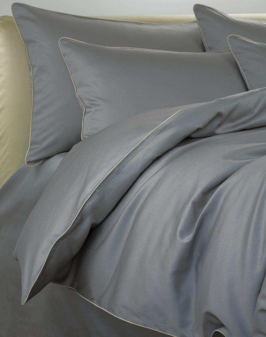 Постельное белье - модель Lorenzo - цвет Griggio - египетский хлопок 100%