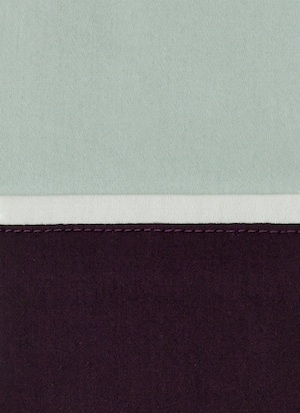Образец ткани для пошива постельного белья - модель Murano - цвет Rubino - египетский хлопок 100%