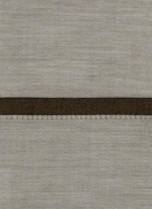 Образец ткани для пошива постельного белья - модель Polo цвет Chocolat - египетский хлопок 100%