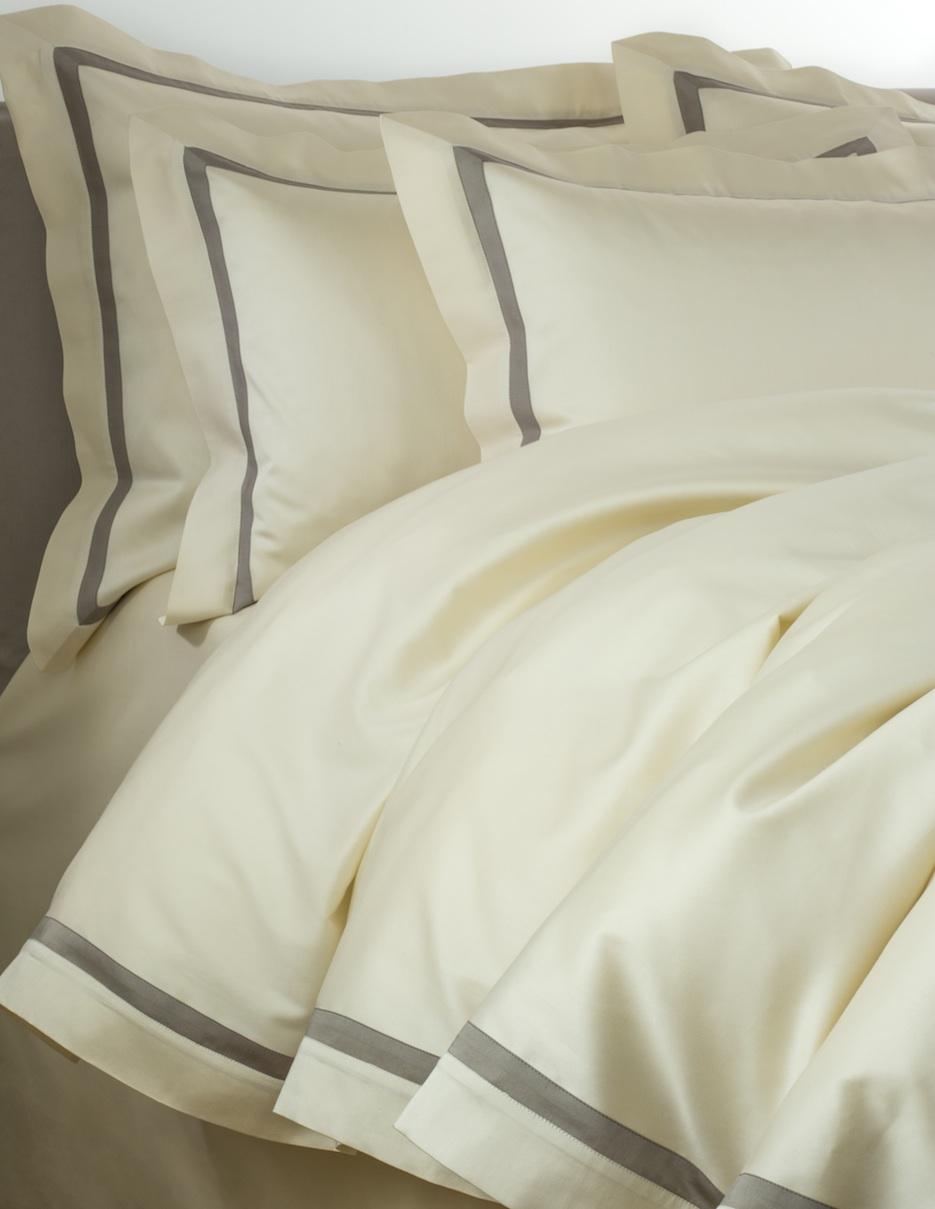 Постельное белье - модель Cristina - цвет Panna - египетский хлопок 100%