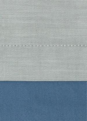 Образец ткани для пошива постельного белья - модель Samuele цвет Celeste - египетский хлопок 100%
