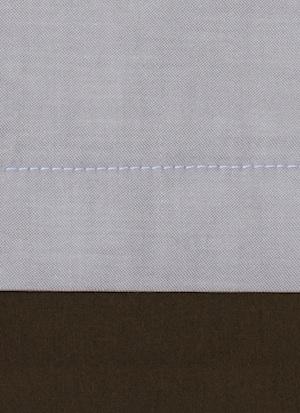 Образец ткани для пошива постельного белья - модель Samuele цвет Chocolat - египетский хлопок 100%