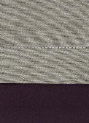 Образец ткани для пошива постельного белья - модель Samuele цвет Vino - египетский хлопок 100%