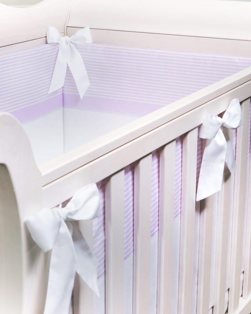 Бортик в детскую кроватку Ballet Print Lilla, с печатным рисунком, состав хлопок 100% - fioridivenezia.ru