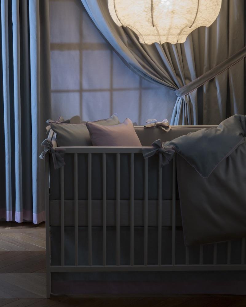 Бортик в детскую кроватку Bon Ton Irish, состав хлопок 100% - fioridivenezia.ru