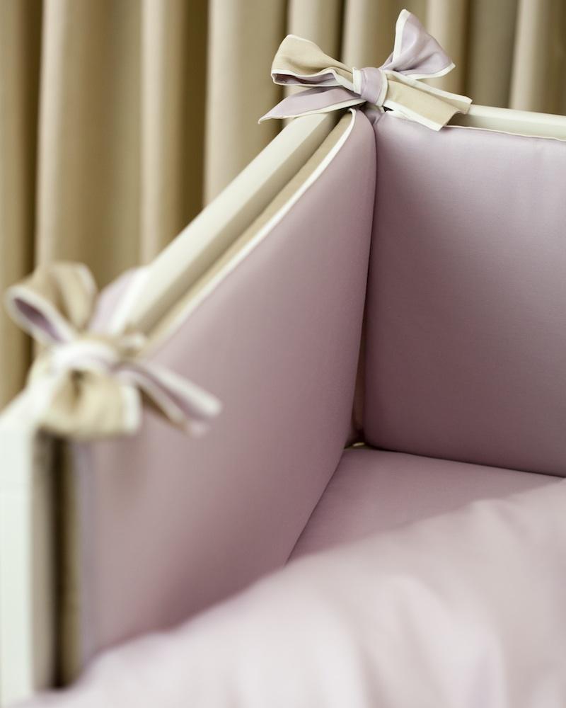Бортик в детскую кроватку Bon Ton Sable, состав хлопок 100% - fioridivenezia.ru