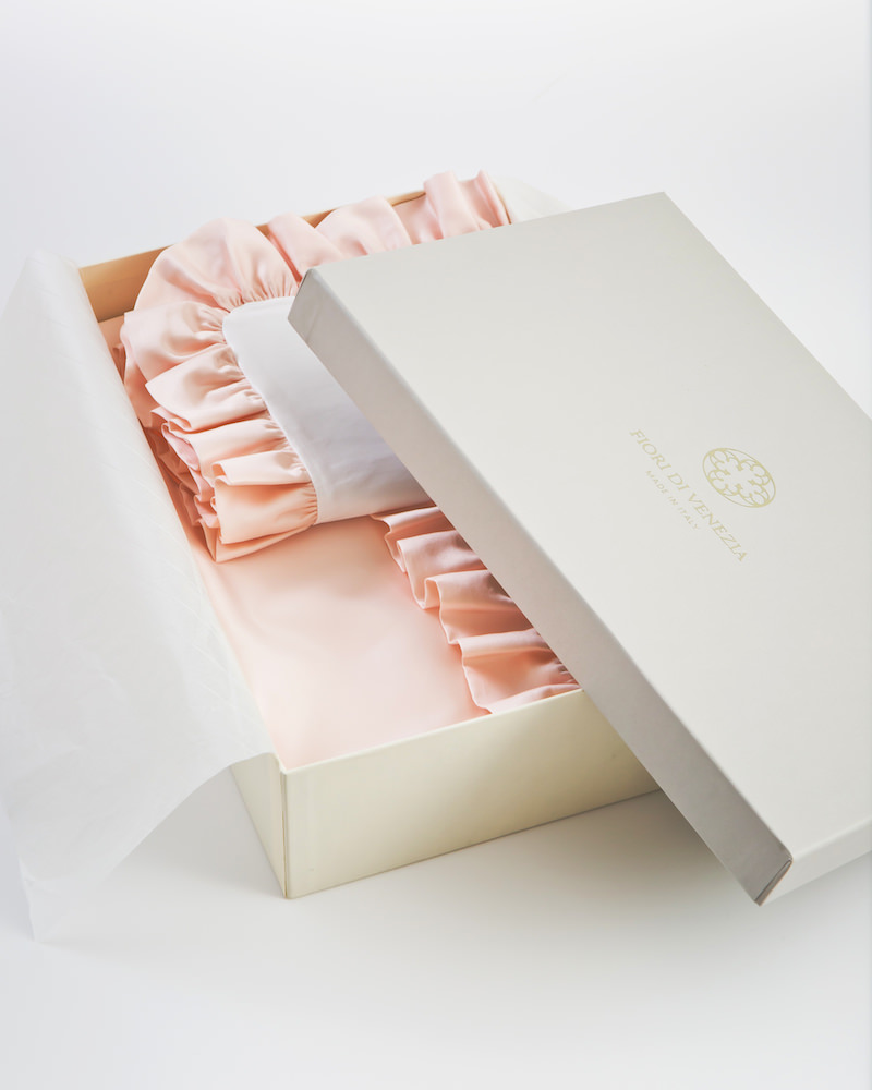 Комплект детского постельного белья Ruche Rosa - fioridivenezia.ru