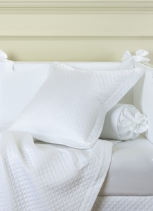 Декоративная подушка и валик Solo Bianco