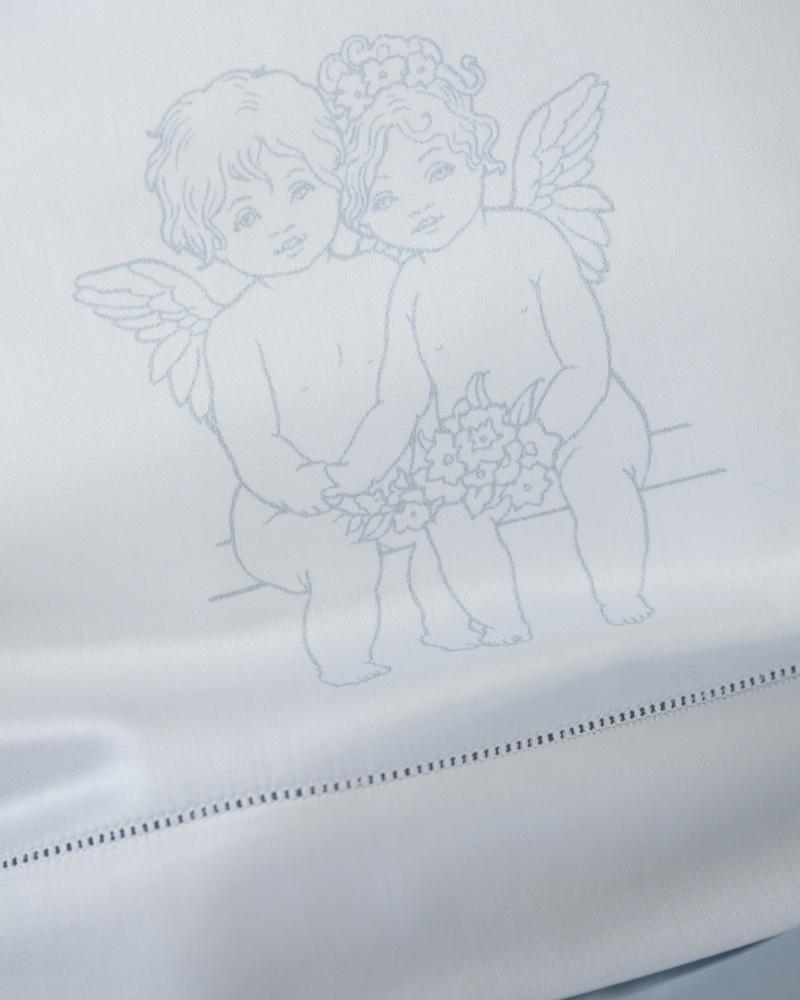 Комплект детского постельного белья Angel Love Blu - fioridivenezia.ru