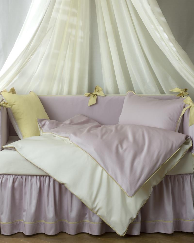 Юбка для кроватки Candy Berry - состав хлопок 100% - fioridivenezia.ru