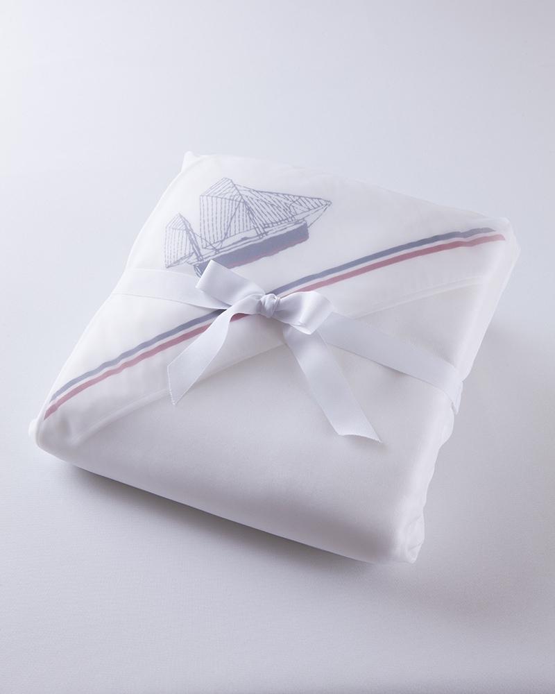 Банный комплект для малыша Sea Blu, махровый уголок и полотенца в упаковке - fioridivenezia.ru