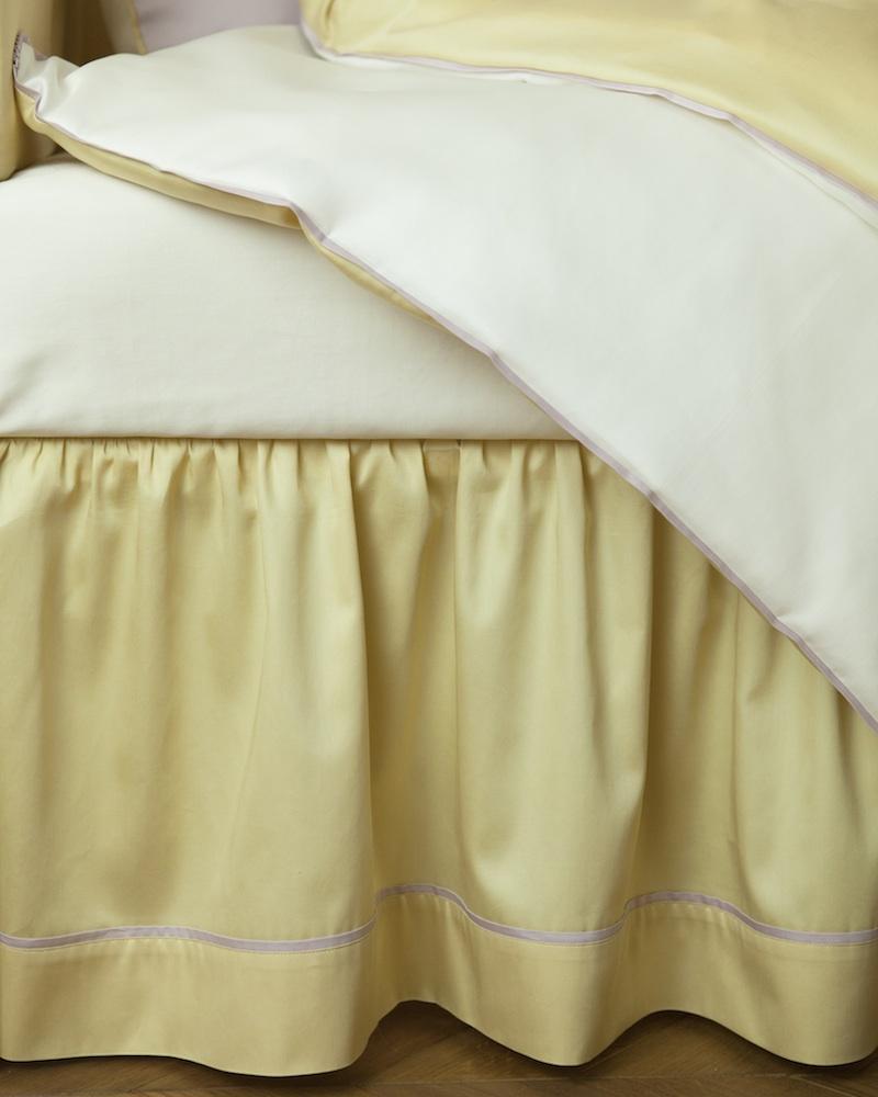 Юбка для кроватки Candy Lemon - состав хлопок 100% - fioridivenezia.ru