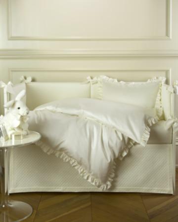 Комплект для детской кроватки Ruche Avorio