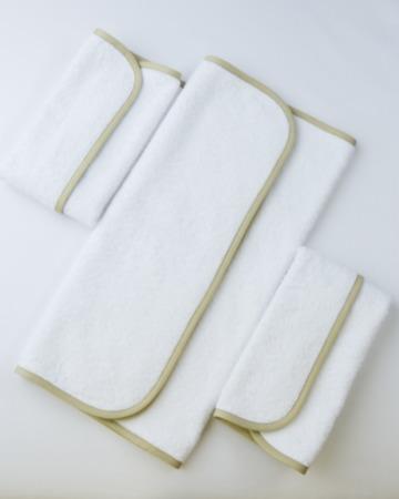 Полотенца 3 штуки Fiori Bianco