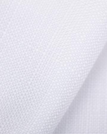 Скатерть Canapa Bianco - кант Grisaglia размер 150СМх300СМ