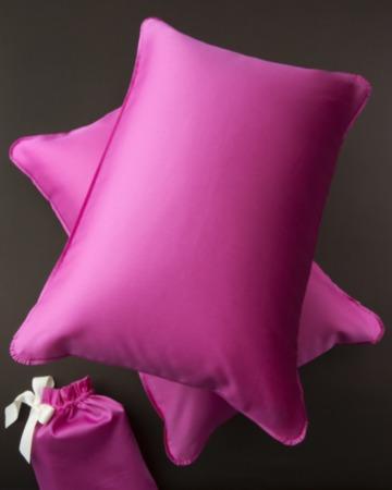 Яркие наволочки Flash Pink размер 40смх60см