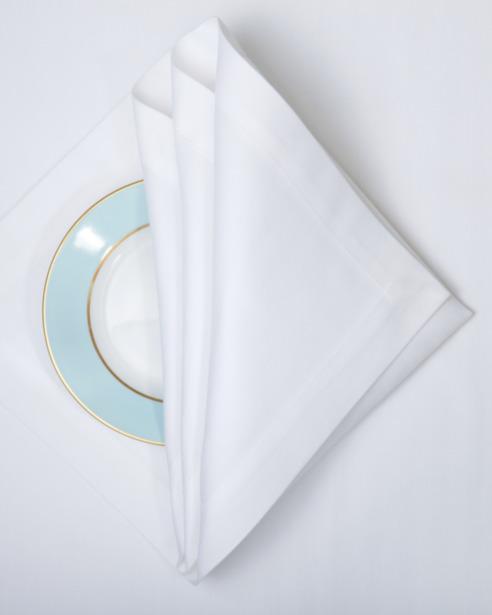 Набор салфеток Spinato Bianco