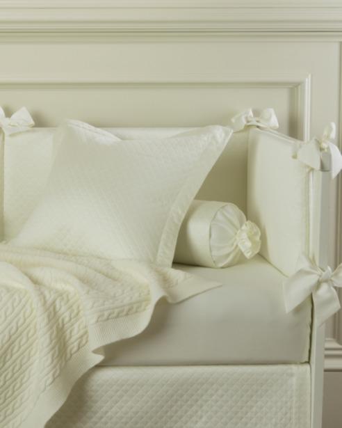 Декоративная подушка и валик Solo Avorio - fioridivenezia.ru