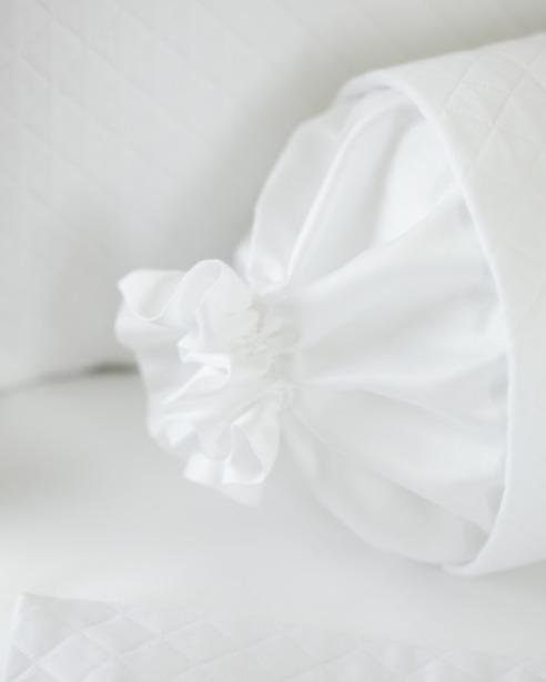 Декоративная подушка и валик Solo Bianco - fioridivenezia.ru