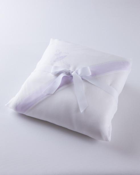Банный комплект для малыша Ballet Print Lilla в упаковке - fioridivenezia.ru
