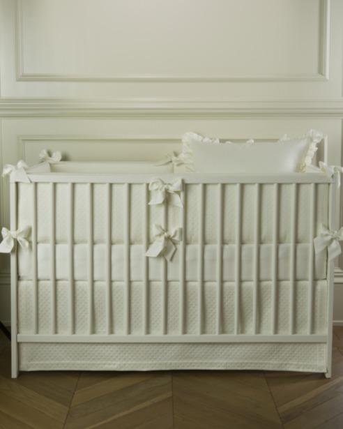 Юбка для кроватки Solo Avorio - fioridivenezia.ru