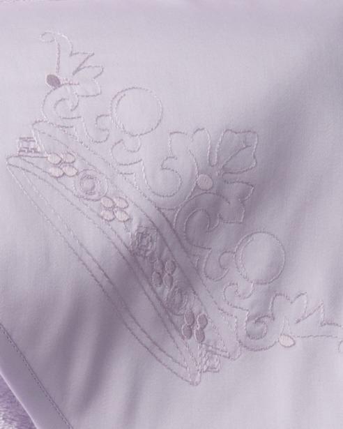 Банный уголок с капюшоном и полотенце Corona Lavanda - fioridivenezia.ru