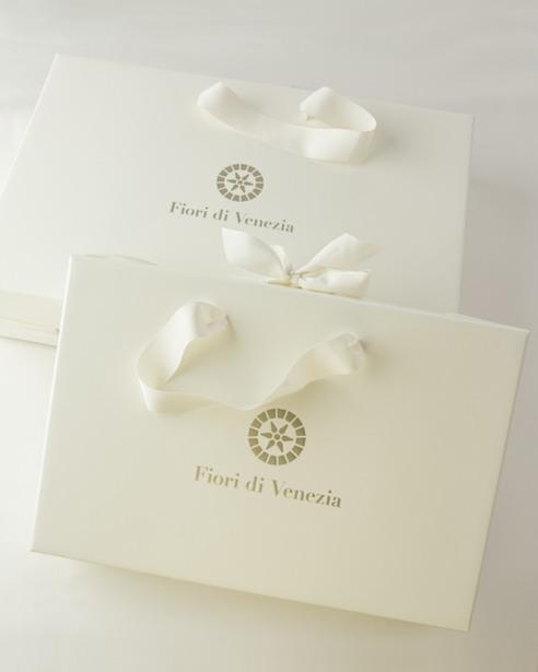 Покрывало Mosaico Caramel в упаковке - fioridivenezia.ru