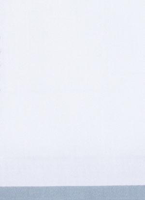 Образец ткани для пошива постельного белья - модель Carmini - цвет Sion/сероголубой - египетский хлопок 100%